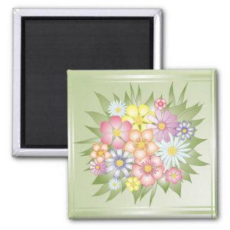 meadow flowers magnet