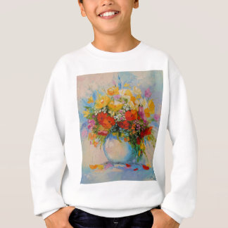 Meadow flowers sweatshirt