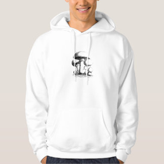 Meadow Mushrooms Mens Hoodie