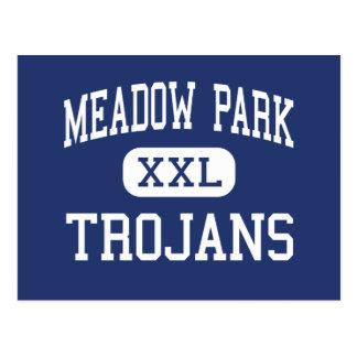 Meadow Park Trojans Middle Beaverton Oregon Postcard