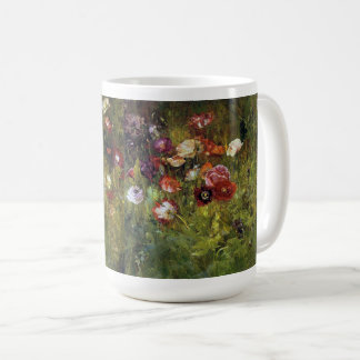 Meadow Poppy Flowers Floral Mug
