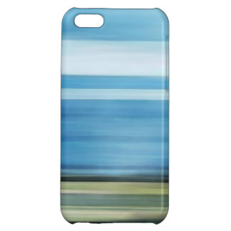 Meadow Sky Country Landscape in Blue White Green iPhone 5C Cover
