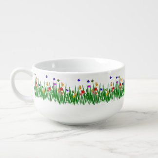 Meadow Soup Bowl With Handle