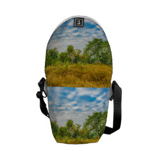 Meadow Tropical Landscape Scene, Guayaquil Courier Bag
