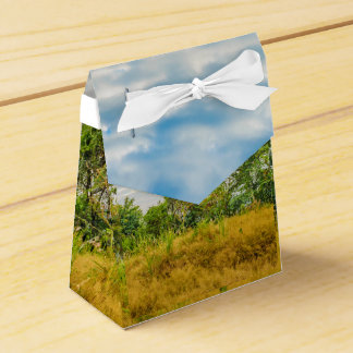 Meadow Tropical Landscape Scene, Guayaquil Favor Box