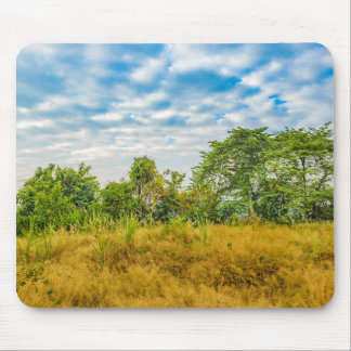 Meadow Tropical Landscape Scene, Guayaquil Mouse Pad