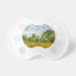 Meadow Tropical Landscape Scene, Guayaquil Pacifier