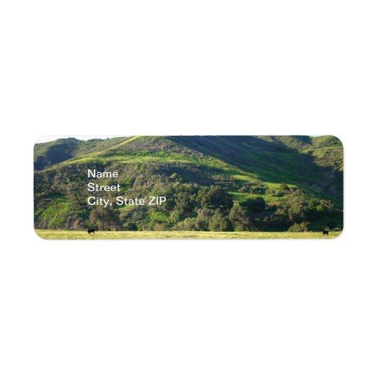 Meadow Valley Return Address Label