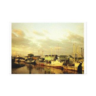 Meadown Bank Trawlers Canvas Print