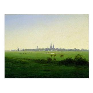 Meadows near Greifswald Postcard