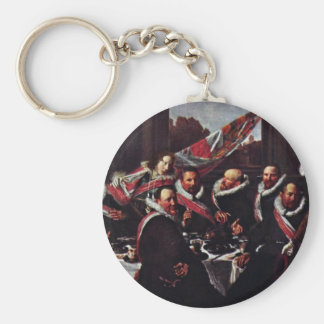Meal Of The Officers Of The St. George Civic Guard Keychain