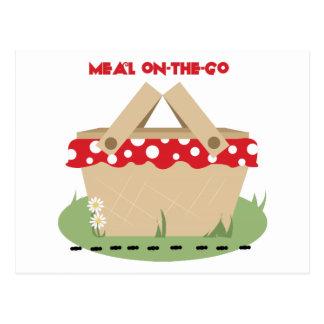 Meal On-the-Go Postcard