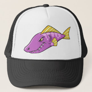 Mean Angry Fish  Hat