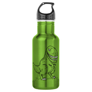 Mean Cool Dinosaur T Rex Cartoon 532 Ml Water Bottle