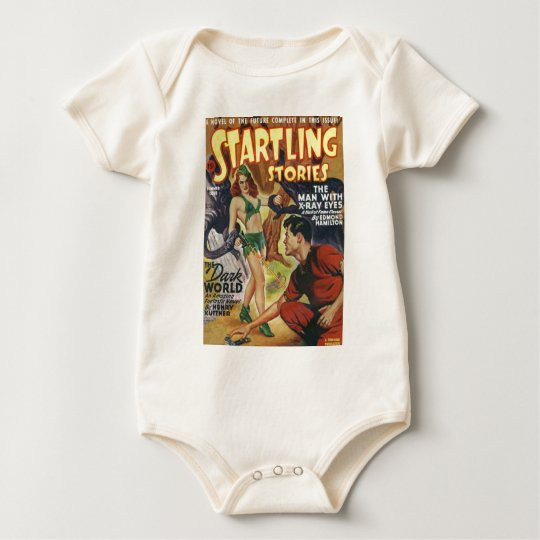 Mean Forest Girl Baby Bodysuit