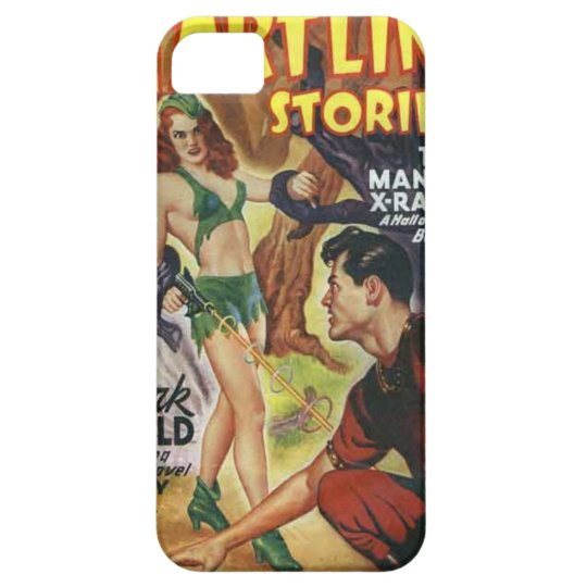Mean Forest Girl Case For The iPhone 5