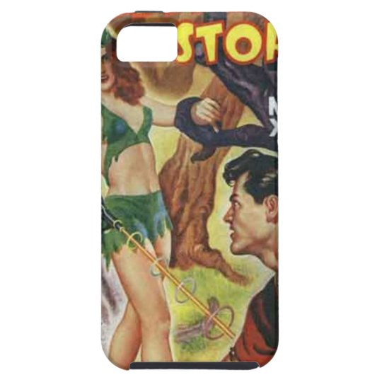 Mean Forest Girl iPhone 5 Cover