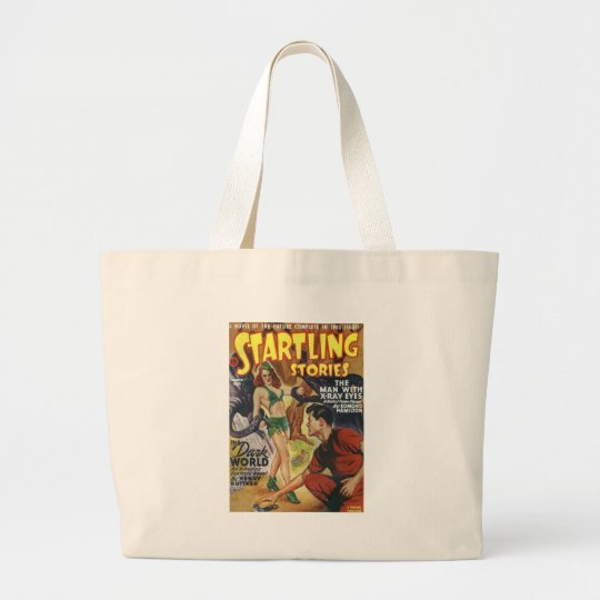Mean Forest Girl Large Tote Bag