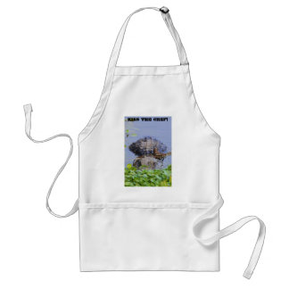 Mean Gator- Kiss the Chef Apron