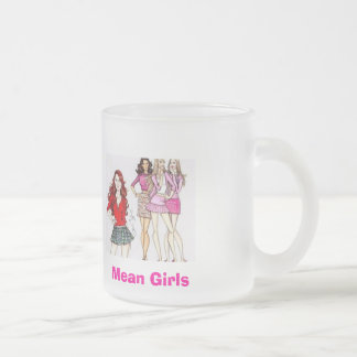 Mean Girls Frosted Glass Coffee Mug