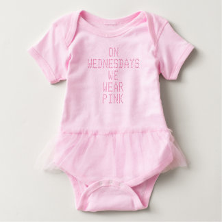 Mean girls newborn onsie baby bodysuit