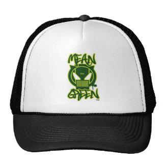 Mean Green LogoN Trucker Hat