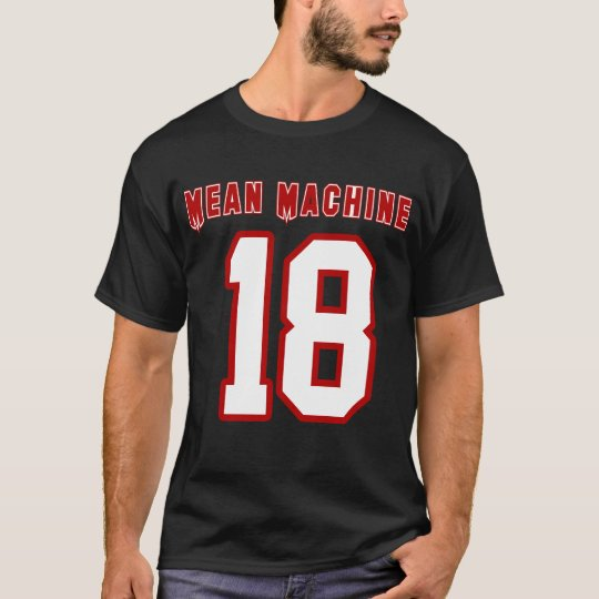 Mean Machine, Funny Football Movie T-Shirt
