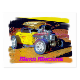 Mean Machine Postcard
