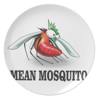 mean mosquito plate