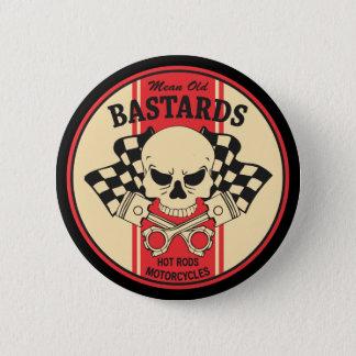 Mean Old Bastards 2 Inch Round Button
