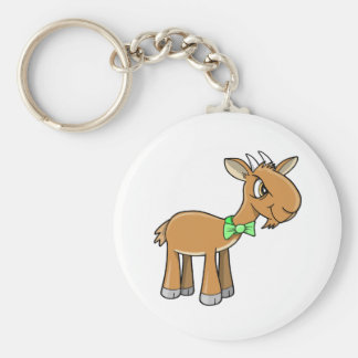 Mean Old Goat Key Chain