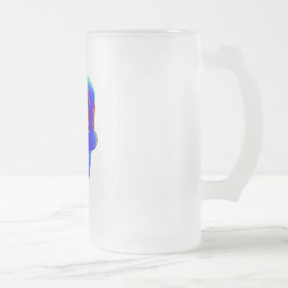 MEAN RAP HAT FROSTED GLASS MUG