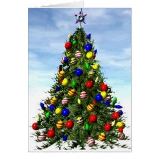 Mean spirited Christmas Card---Funny Card
