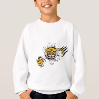 Mean Wildcat Mascot Sweatshirt