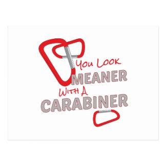 Meaner Carabiner Postcard
