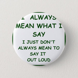 MEANING 2 INCH ROUND BUTTON