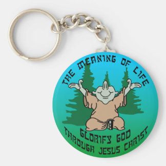 Meaning of Life 1 Keychain