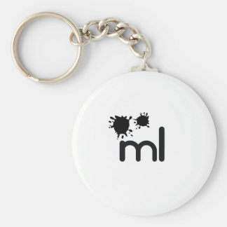 Meaningful living room brand and lifestyle basic round button keychain