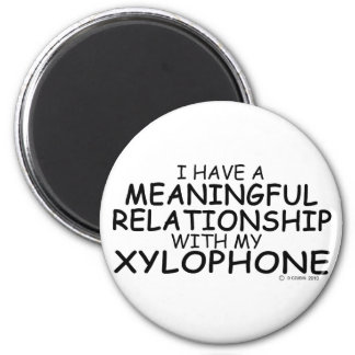 Meaningful Relationship Xylophone Magnet