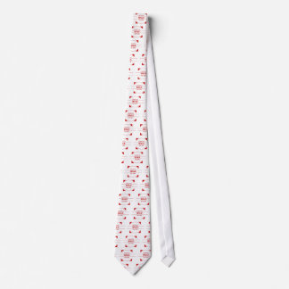 MeaningfulLiving Brand red brand logo Tie