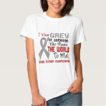Means The World To Me 2 Brain Tumour T-shirts