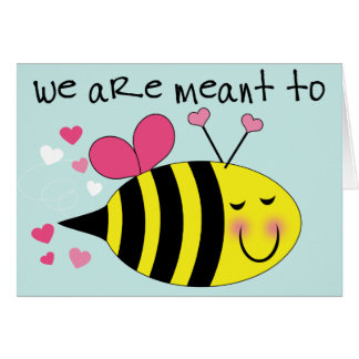 Meant to Bee | Valentine's Day Card