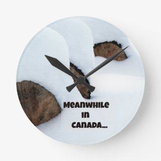 Meanwhile in Canada... Clocks