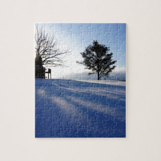 Meanwhile in Canada, midwinter morning Jigsaw Puzzle