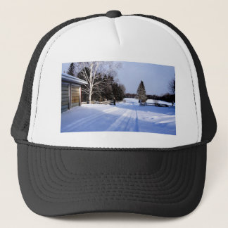 Meanwhile in Canada, Winter! Trucker Hat