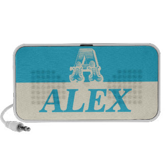 """MeApproved """"Alex"""" - Blue -Doodle by OrigAudio Speakers"""
