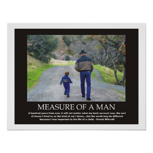 True Measure Of A Man Quotes Like Success