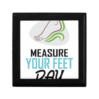 Measure Your Feet Day - Appreciation Day Gift Box