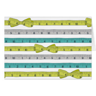 Measuring Tape notecard