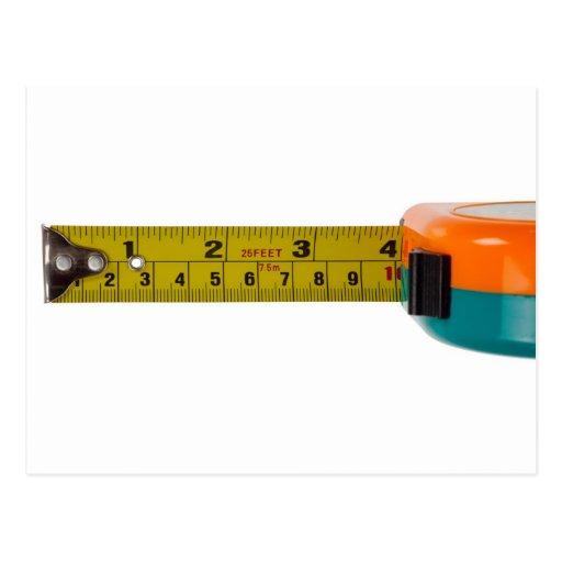 Measuring tape postcards